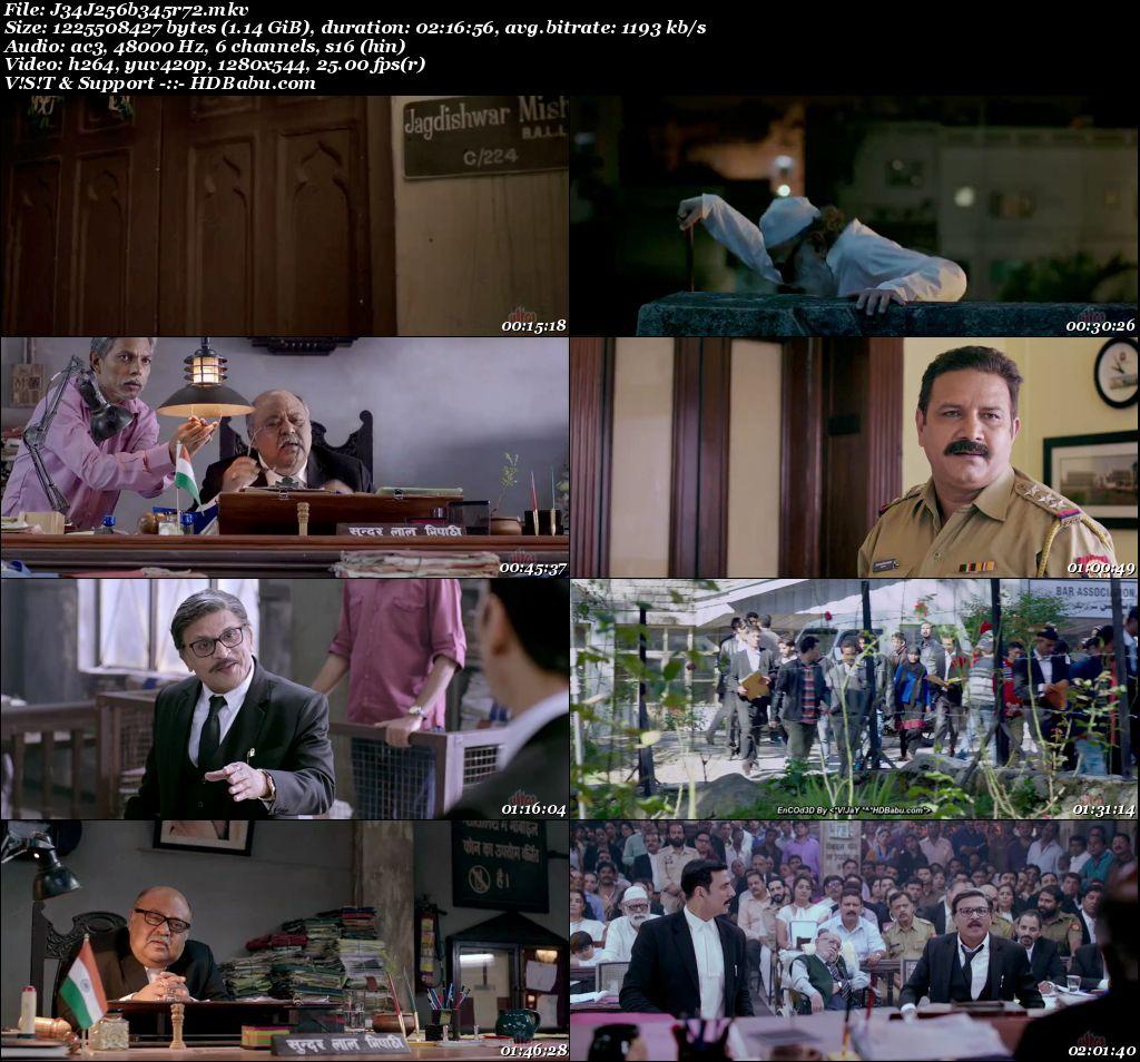 Jolly LLB 2 (2017) 720p BluRay x264 AC3 5.1 - 1.1 GB Screenshot