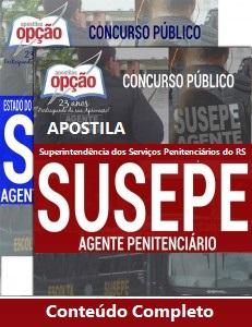 Apostila concurso público da Superintendência dos Serviços Penitenciários do RS (Susepe) no Estado do Rio Grande do Sul.