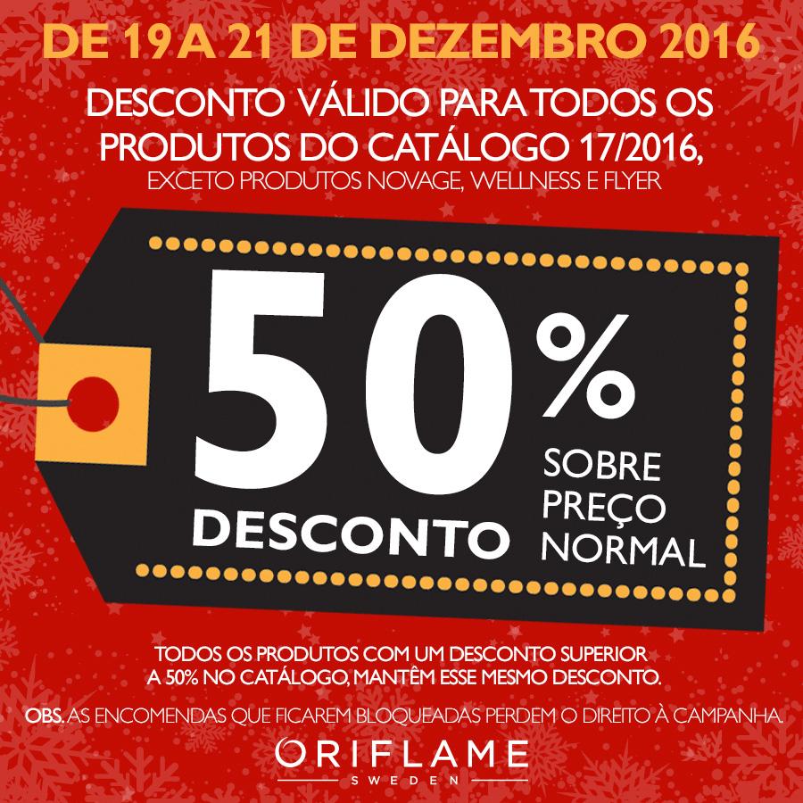 Campanha Extra de Natal - 50% de Desconto!