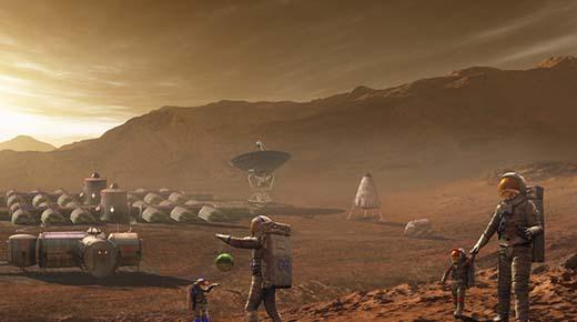 Marino estadounidense retirado afirma que pasó más de 15 años en el espacio y en Marte protegiendo cinco colonias humanas