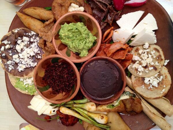comida tipica de Oaxaca