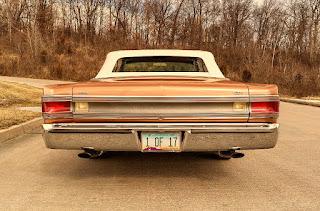 1967 Plymouth Belvedere GTX 426 Hemi Rear