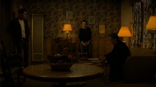 Taylor Kitsch, Rachel McAdams Colin Farrell in True Detective