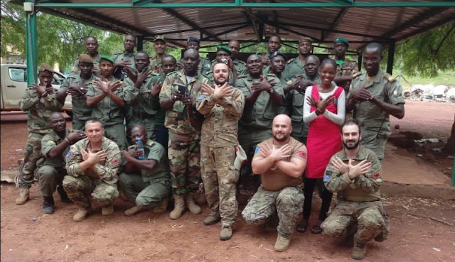 Albanian Military Troops on the EU mission in Mali
