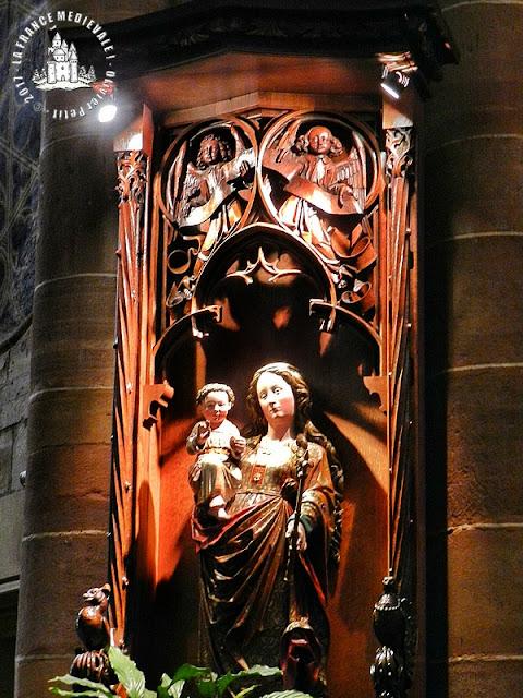 COLMAR (68) - Collégiale Saint-Martin (XIIe-XVe siècles) (Intérieur)