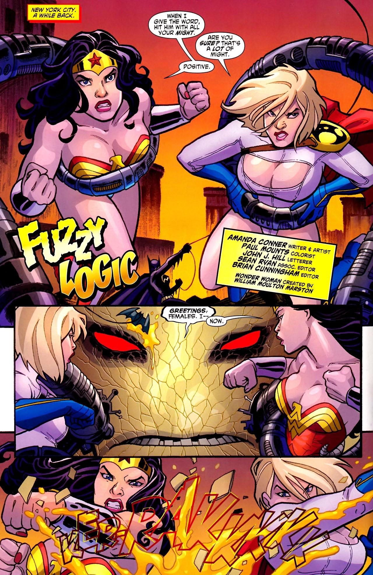 Read online Wonder Woman (2006) comic -  Issue #600 - 12