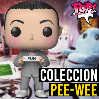 Lista de figuras funko pop de Funko Pee-Wee