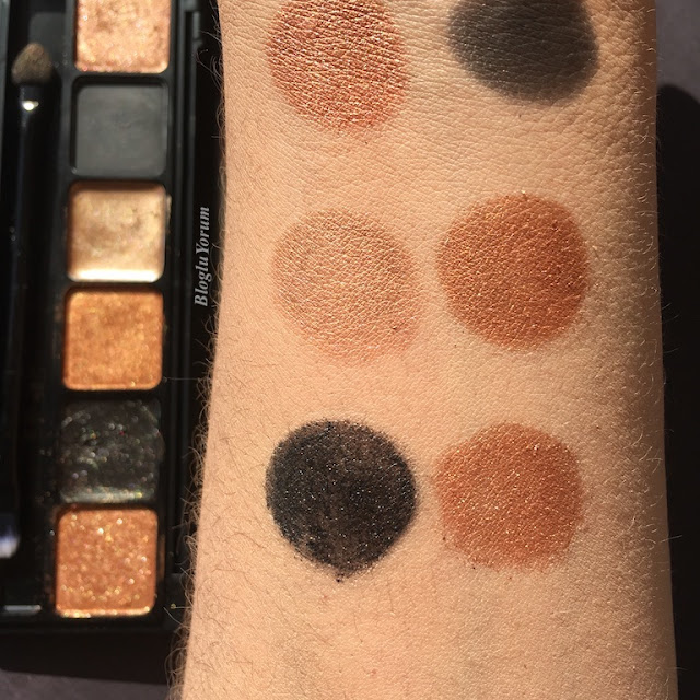sleek i-lust eyeshadow palette into the night bronze swatch