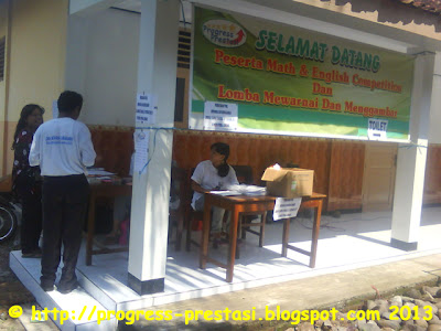 Foto Suasana Babak Final Math & English Competition Tingkat Kab. Jombang 2012-2013