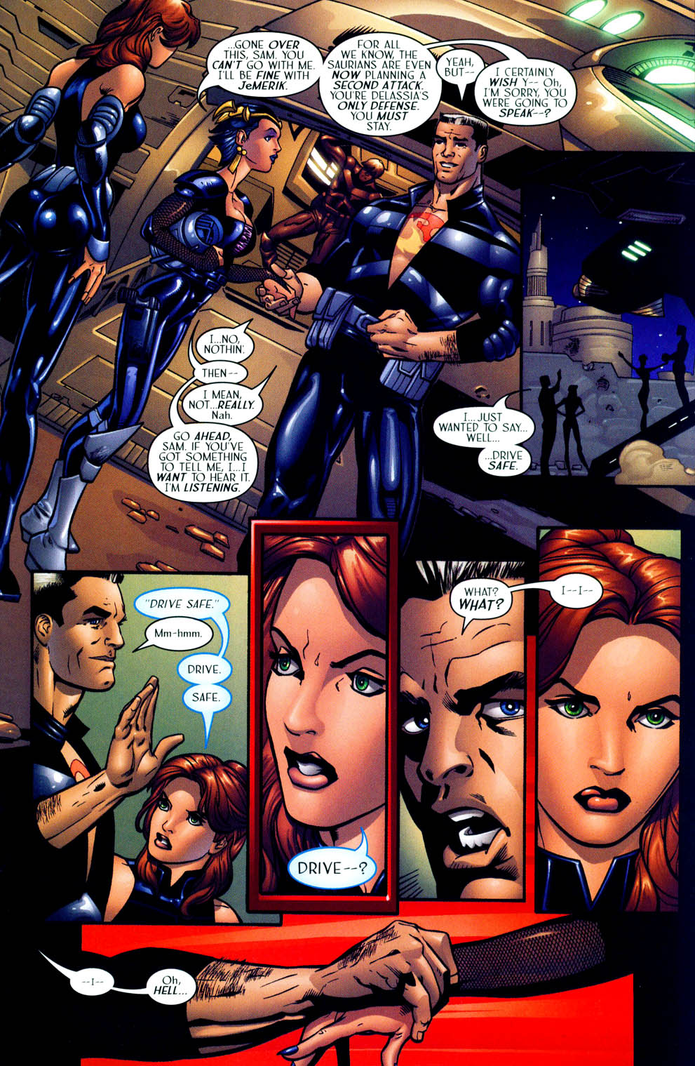 Read online Sigil (2000) comic -  Issue #12 - 23