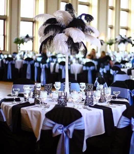 Black and White Wedding Themes