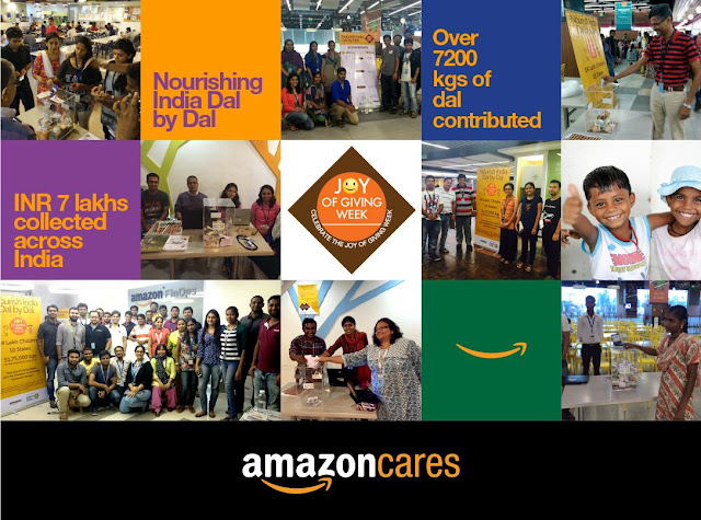 Joy of Giving Week at Amazon.in