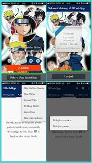 WhatsApp + WhatsApp2 Mod Apk Naruto Themes