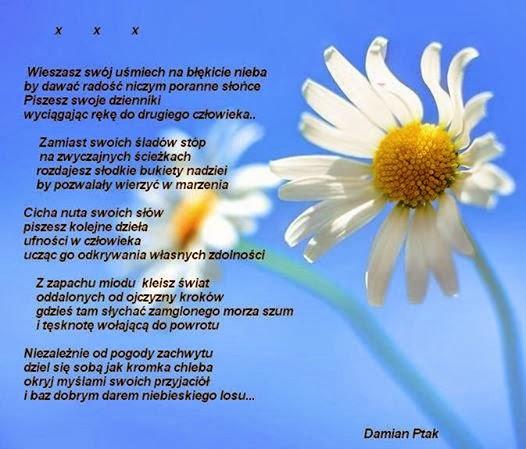 Niebiesko Mi Wiersz Dla Mnie I O Mnie