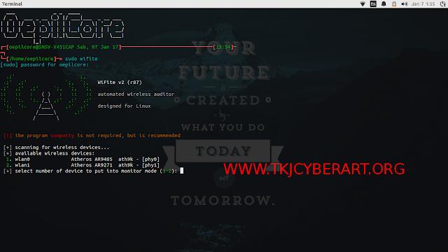 Cara Hack Wifi Dengan WiFite + Aircrack-ng di Ubuntu