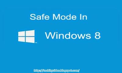 Log into Safe Mode in Windows 8