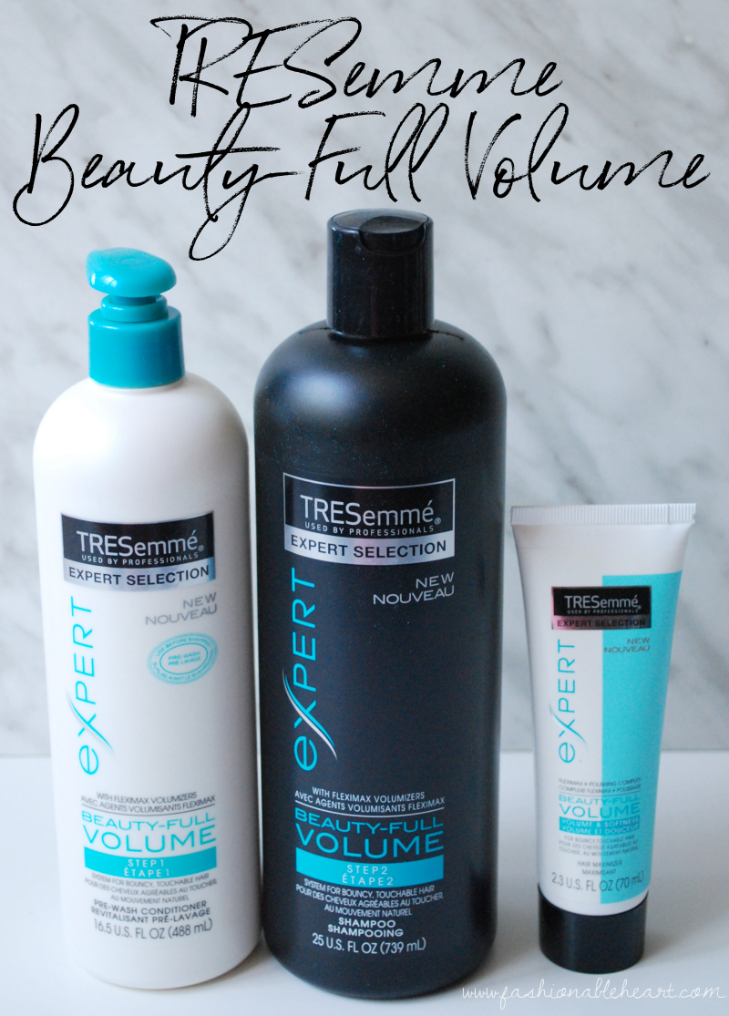 bbloggers, bbloggersca, canadian beauty bloggers, beauty blogger, blog, tresemme, TRESemme, beauty full volume, beauty-full volume, shampoo, conditioner, pre-wash, hair maximizer, review, thin hair, volume