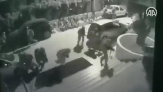 Video: Rekaman CCTV Upaya Pembunuhan Erdogan dalam Hotel oleh 40 Tentara Kudeta