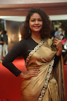 Aditi Myakal look super cute in saree at Mirchi Music Awards South 2017 ~  Exclusive Celebrities Galleries 013.JPG
