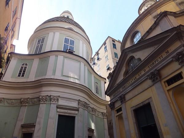 gênes genova vieille ville église san giorgio