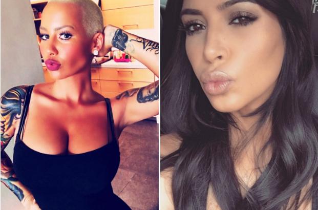 Amber Rose Slams Pink For Her Classist Kim Kardashian