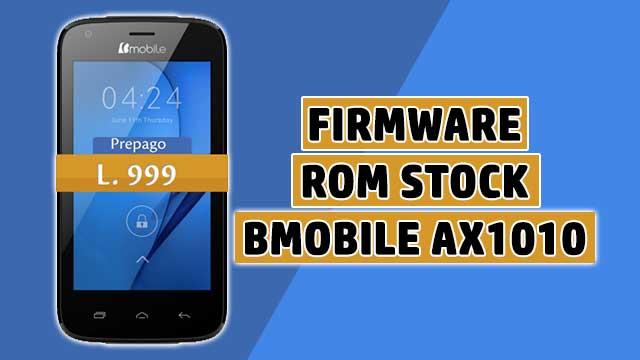 rom stock Bmobile AX1010