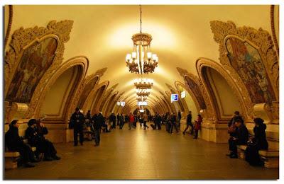 Estación del metro Arquitectura moderna