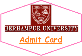 BU Odisha Admit Card 2019