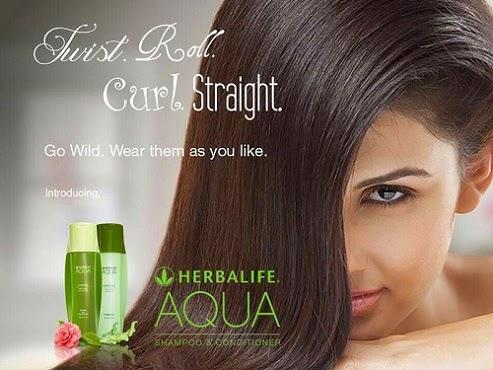 Tin vui Bộ dầu gội và dầu xả Herbalife Aqua sắp được bán đại trà