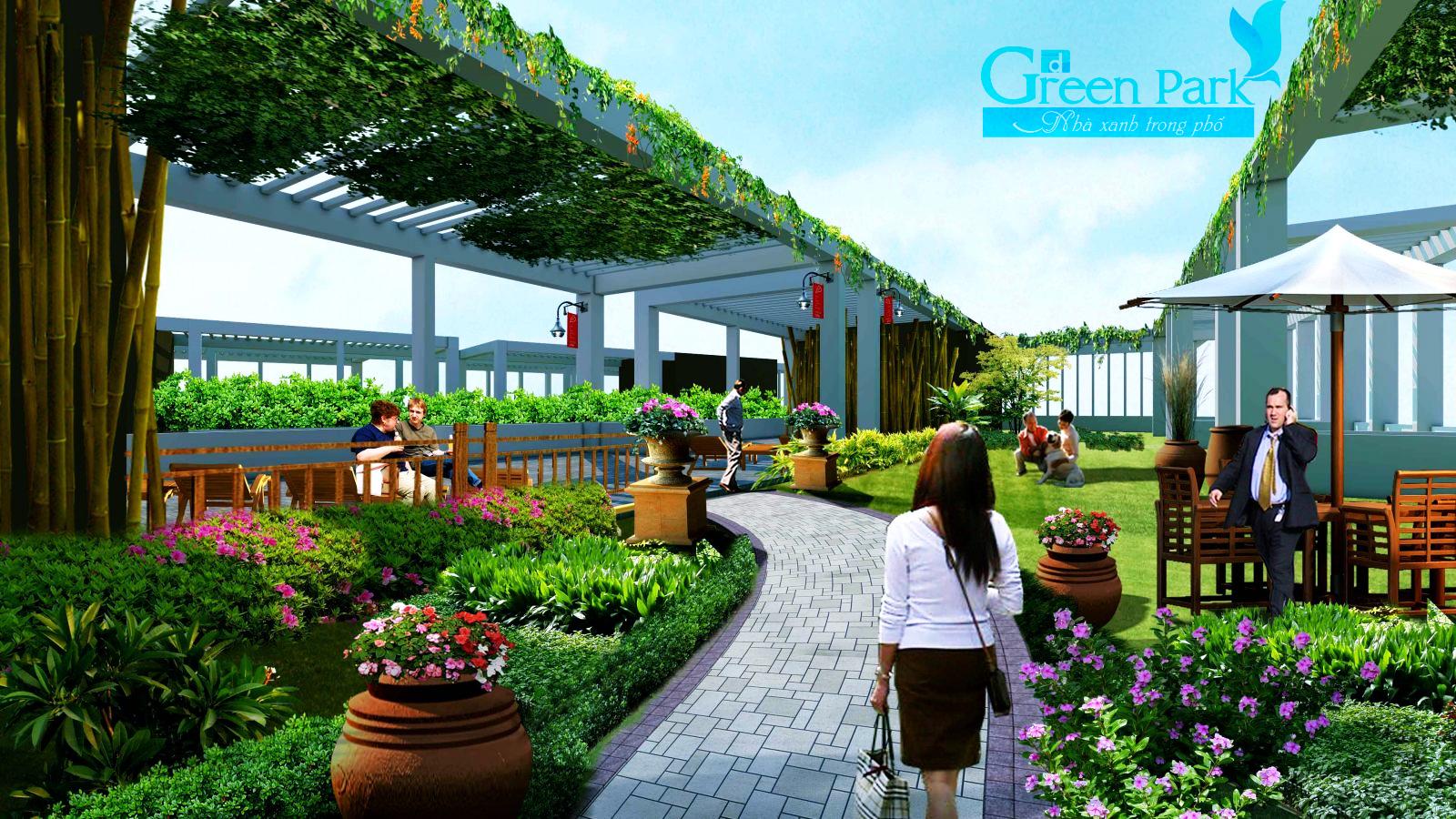 Không gian sống đẳng cấp của chung cư PD Green Park