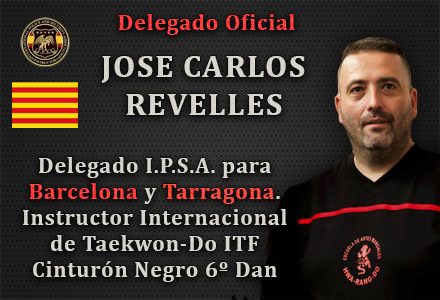 DEGELADO OFICIAL IPSA JOSE CARLOS REVELLES BARCELONA TARRAGONA INTERNATIONAL POLICE AND SECURITY ASSOCIATION