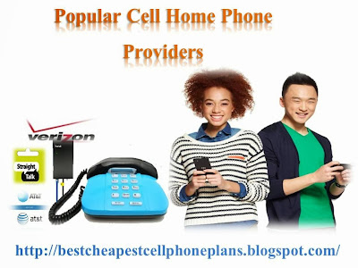 Popular Cellular Home Phone Providers