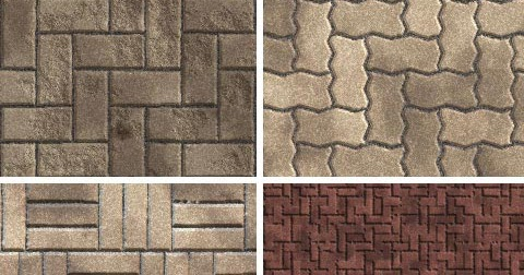 Street Pavers Seamless Tiling Patterns For Adobe Photoshop DesignEasy Extraordinary Pavers Patterns