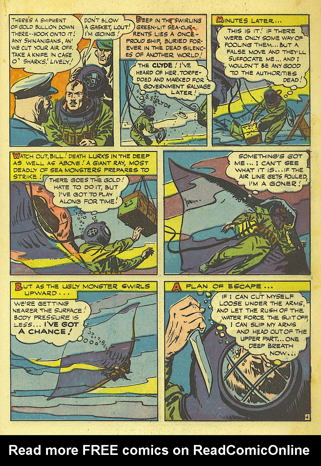 Read online Action Comics (1938) comic -  Issue #67 - 35