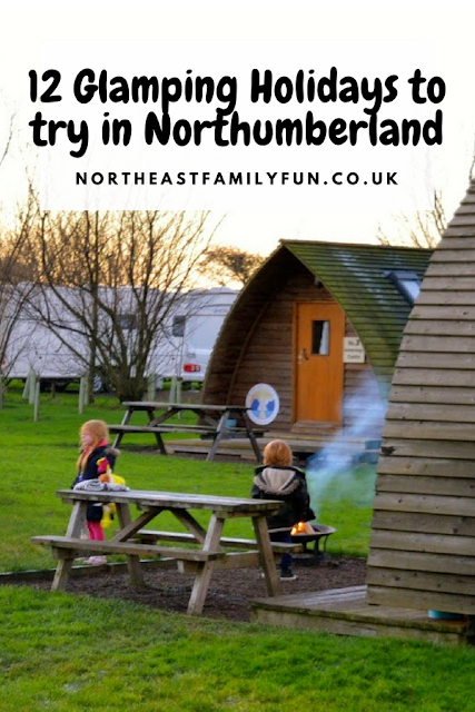 12 Glamping Holidays to try in Northumberland #Glamping #Wigwam #Northumberland #Yurt