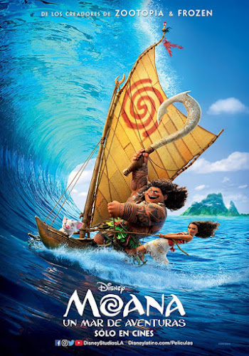 Moana (BRRip 1080p Dual Latino / Ingles) (2016)