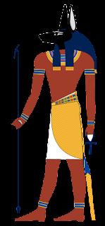 Anubis (Dewa Kematian dalam mitologi mesir) yang menjadi skin hero Roger Mobile Legend