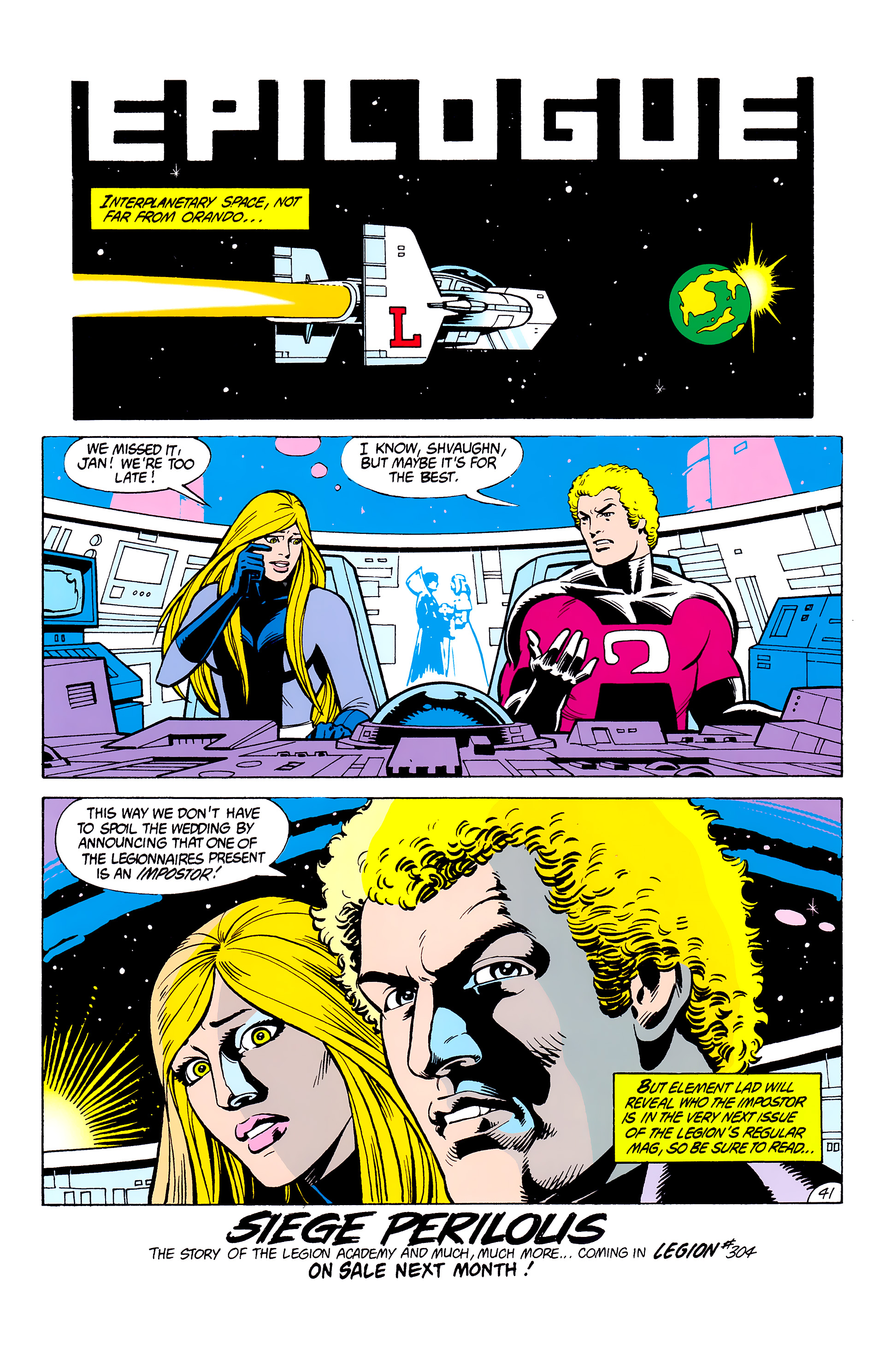 Legion of Super-Heroes (1980) _Annual_2 Page 40