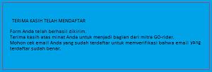 Cara Daftar Gojek Purwakarta Jawa Barat Online Dan Offline 2018