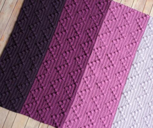 Bobble-Wobble Blanket - Free Pattern