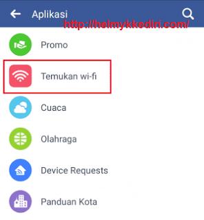 Menemukan lokasi wifi dengan aplikasi facebook3