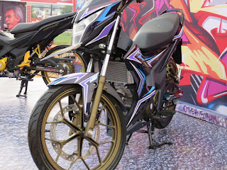 modifikasi honda sonic 150r 2012