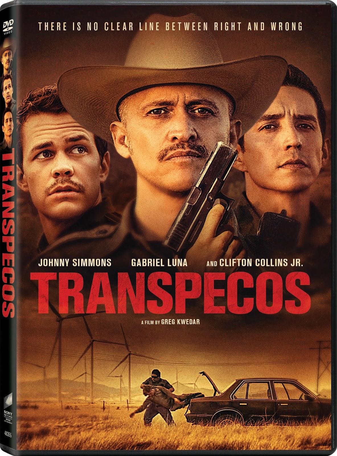transpecos en dvd digital el 27 de septiembre