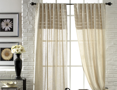 Suzanne Marie's Interiors: Large View Window Drapery Ideas