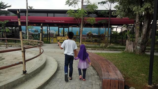 Anak-Anak Memanah di Branchsto Equestrian Park BSD City
