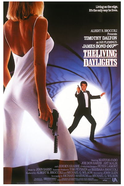 Poster Of James Bond The Living Daylights 1987 720p Hindi BRRip Dual Audio Download