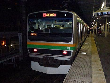 湘南新宿ライン 新宿経由 快速 前橋行き1 E231系(2014年以前の旧表示)