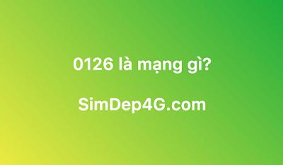 0126 là mạng gì?
