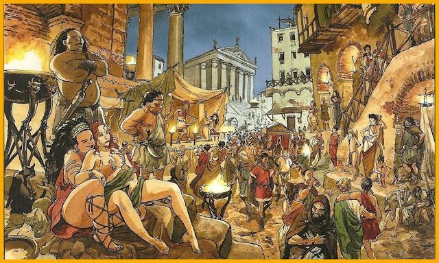8e3dd156b22 LES BAS-FOND D ANTIQUE ROME