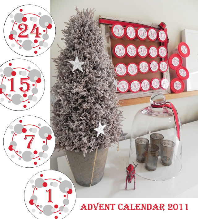 match set love advent calendar 2011 free printable. Black Bedroom Furniture Sets. Home Design Ideas